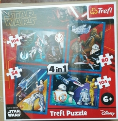 Trefl 4v1 Star Wars